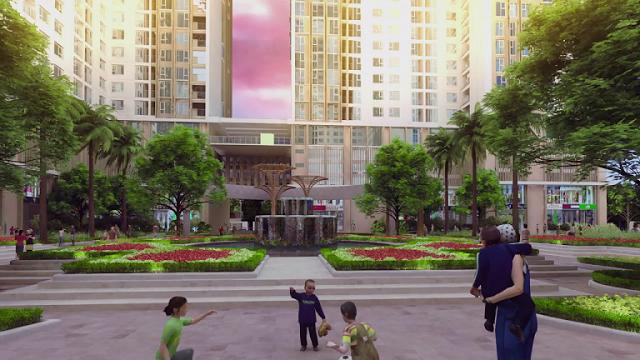 Khuôn viên rộng tại Eco-green city