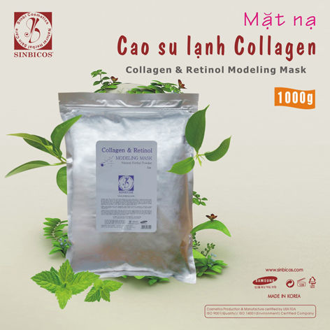 Mặt Nạ Cao Su Lạnh Collagen - Sinbicos Collagen & Retinol Modeling Mask
