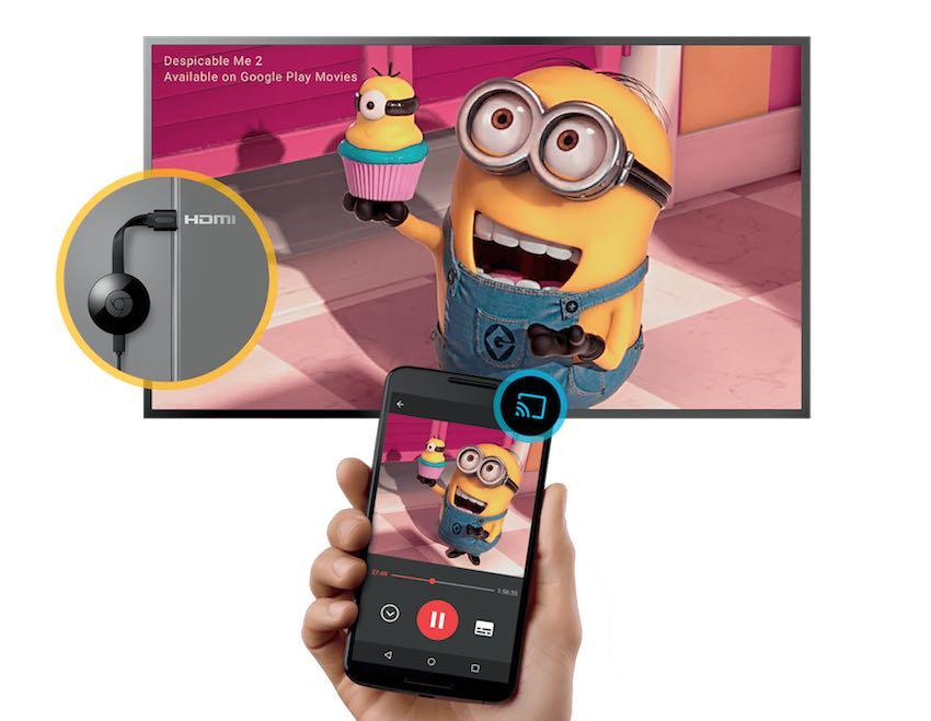 Google ChromeCast 2   Ultra 4K - Chia sẻ mọi nội dung yêu thích của bạn lên màn hình lớn - 2