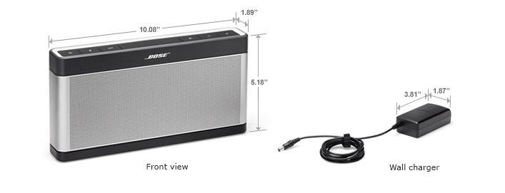 Bose Soundlink 3 chính hãng nhập Mỹ, Made in Mexico 100% sealbox, bảo hành 12 tháng - 2