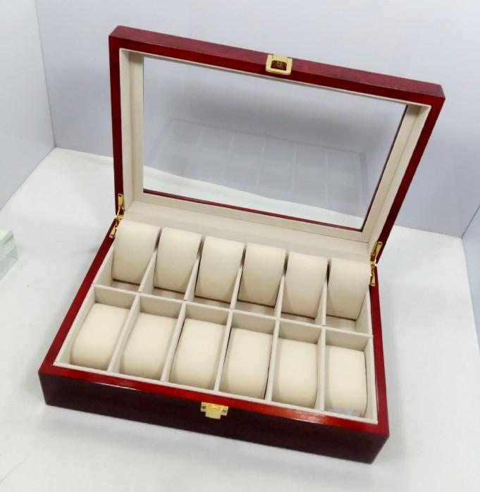 Kết quả hình ảnh cho hộp đựng đồng hồ gỗ 12 chiếc
