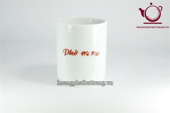 Cốc in logo Phở Hà Nội