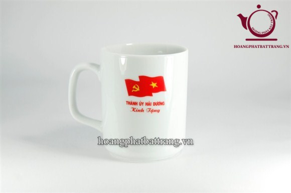 Cốc in logo tỉnh uỷ Hải Dương