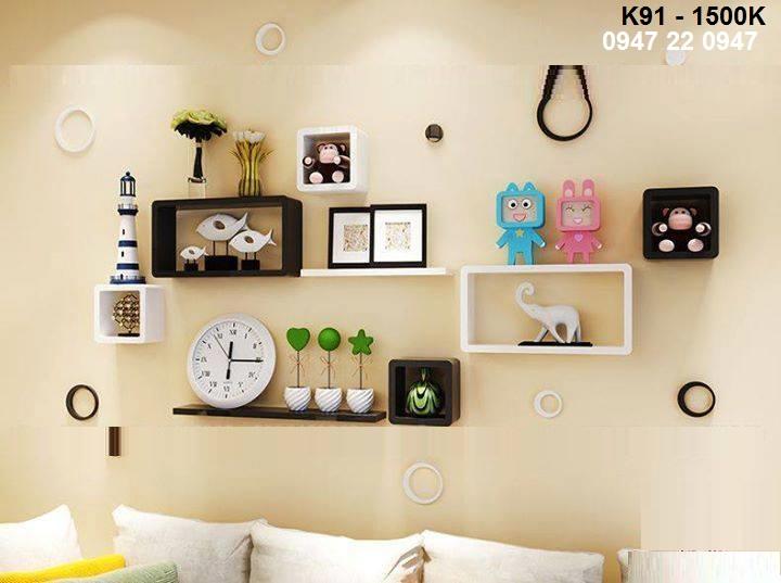15 mẫu kệ trang trí đẹp cho phòng khách thêm hấp dẫn