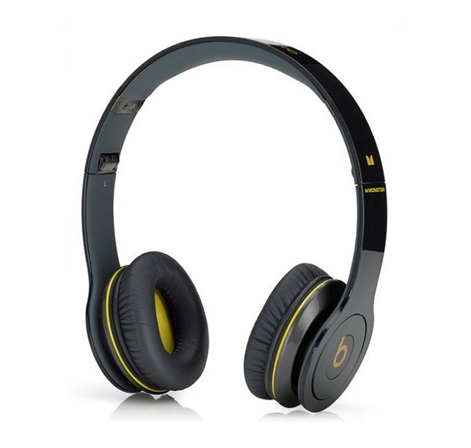 Tai nghe Monster beats Solo HD black and yellow