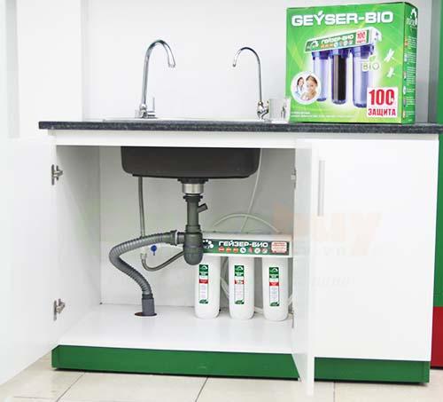 lắp đặt máy lọc nước nano geyser