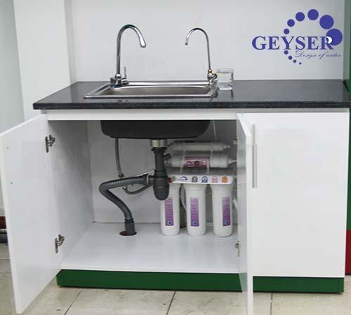 Máy lọc nước nano geyser TK5 - lap dat