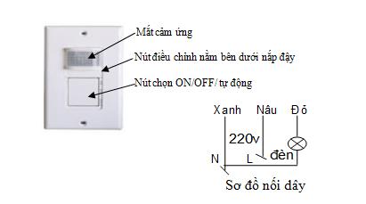 Cảm biến cầu thang SS20B   SS20B