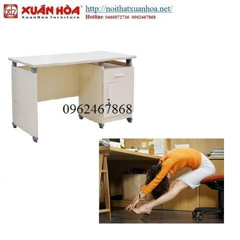 Lựa chọn bàn làm việc văn phòng Xuân Hòa cho văn phòng sang trọng, tiện nghi - 154541