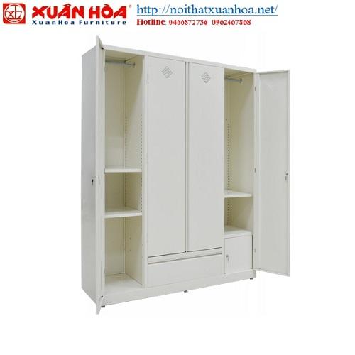 Tủ sắt đựng quần áo Xuân Hòa sản phẩm được đông đảo khách hàng tin dùng
