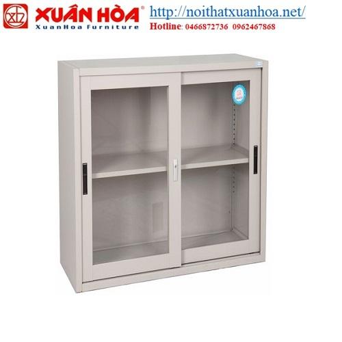 Giới thiệu tủ sắt tài liệu xếp chồng cánh đẩy Xuân Hòa