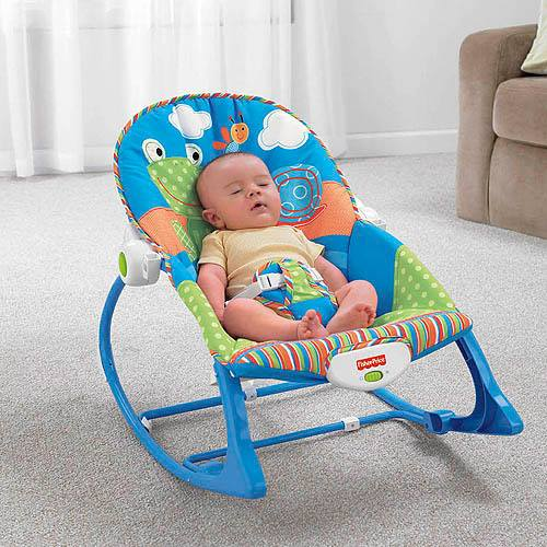Ghế rung Fisher-Price Infant to Toddler Rocker
