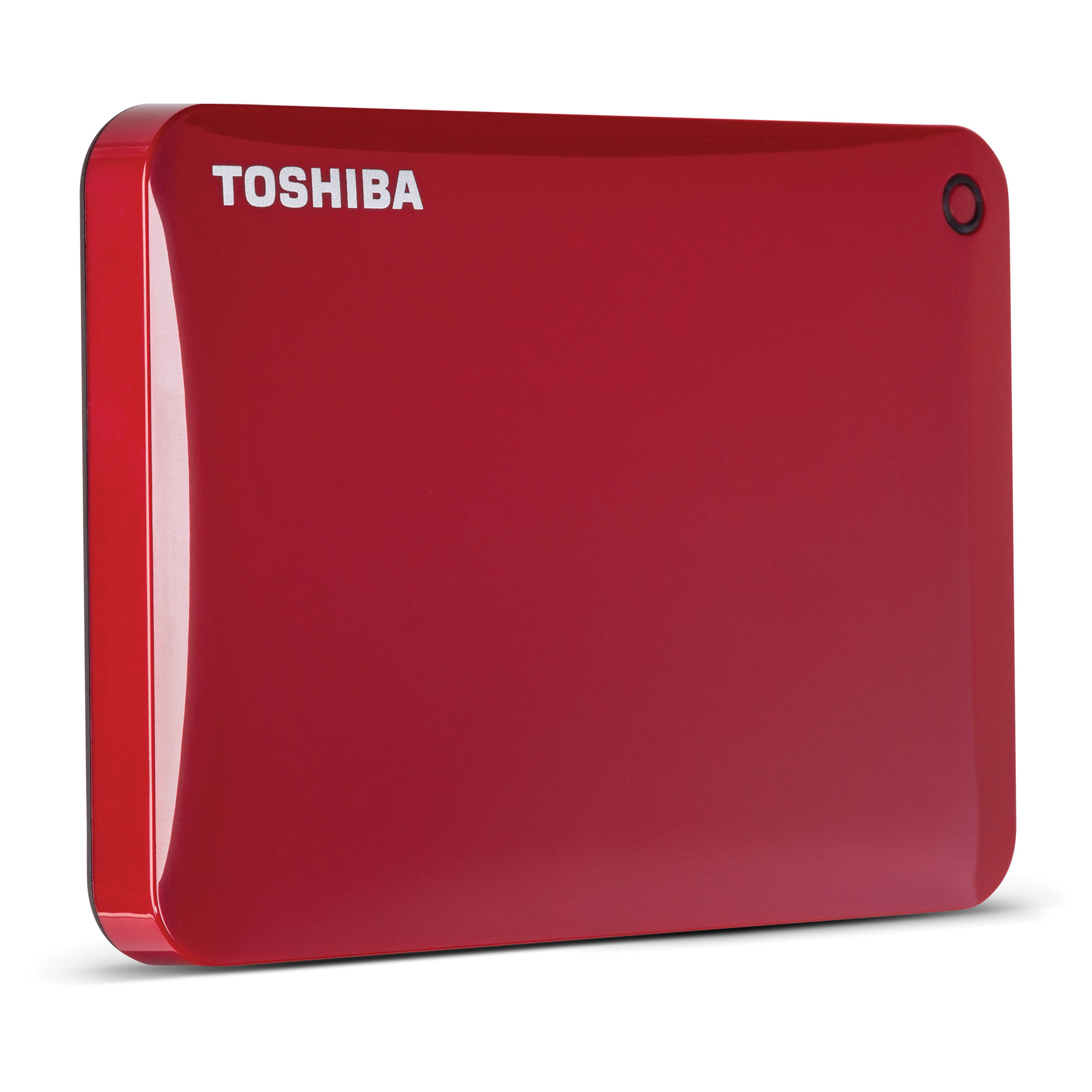"HDD Box TOSHIBA 1TB canvio connect II 3.0"" Portable /Đỏ"