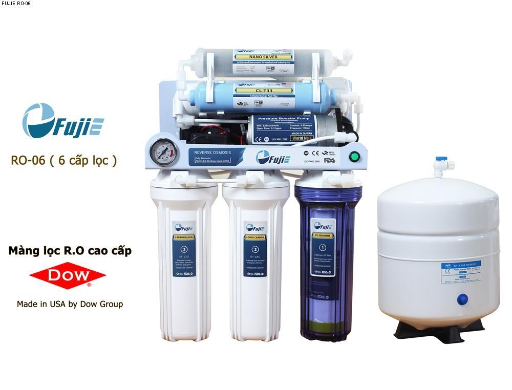 Máy lọc nước tinh khiết RO thông minh FujiE RO-06 (6 cấp lọc) ...