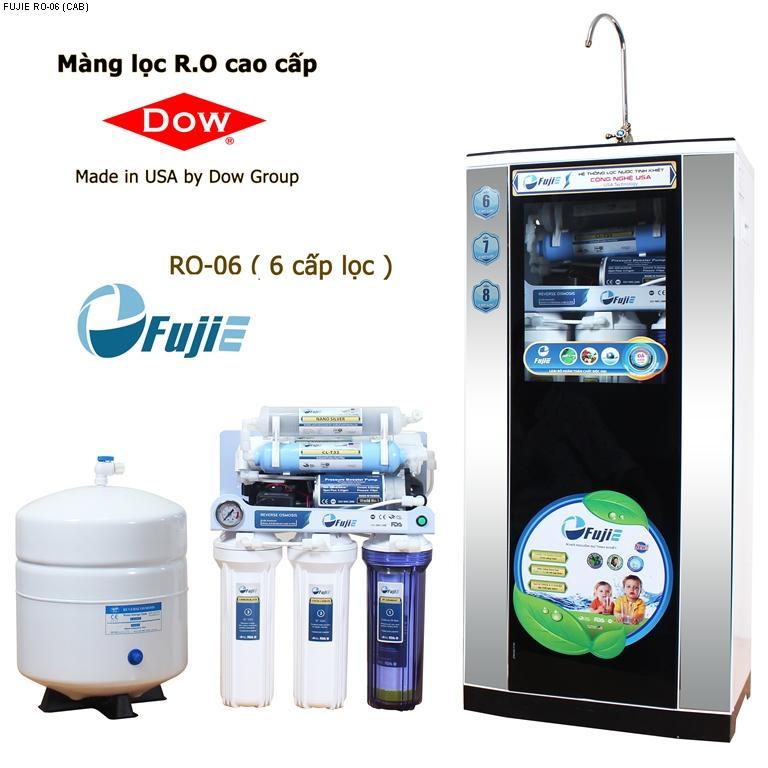 Máy lọc nước tinh khiết RO thông minh FujiE RO-06 (6 cấp lọc - bao gồm...