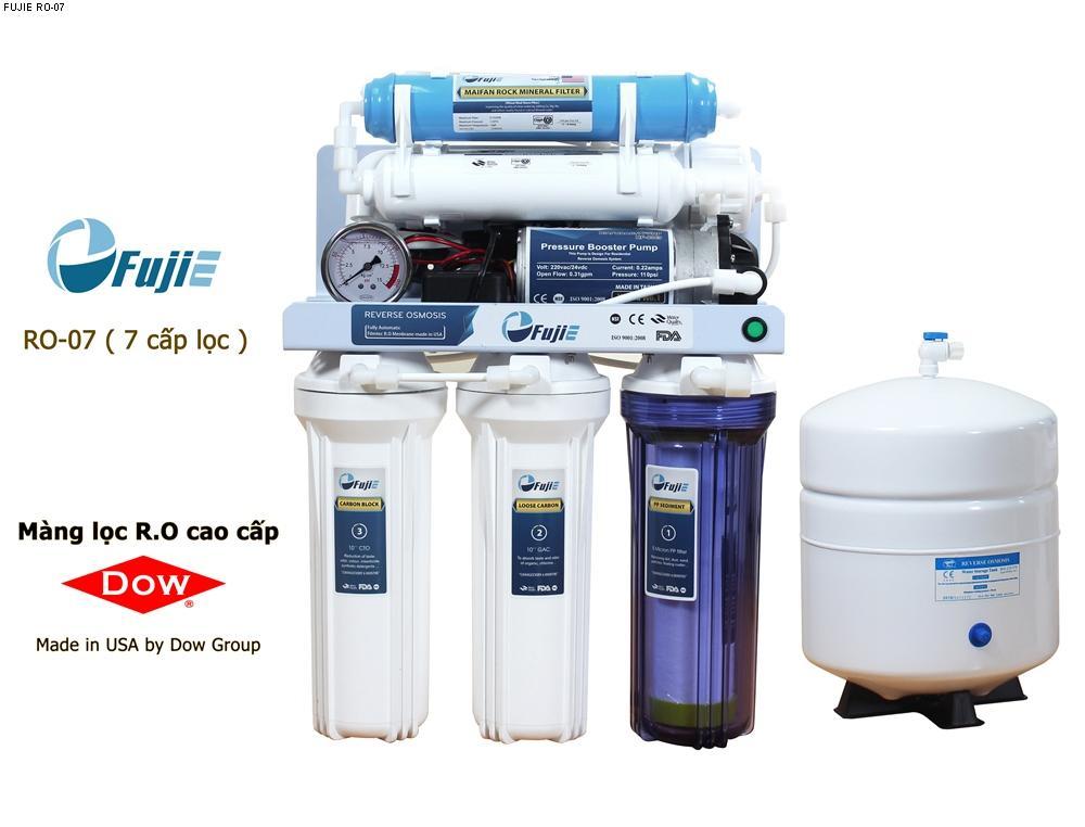 Máy lọc nước tinh khiết RO thông minh FujiE RO-07 (7 cấp lọc) ...