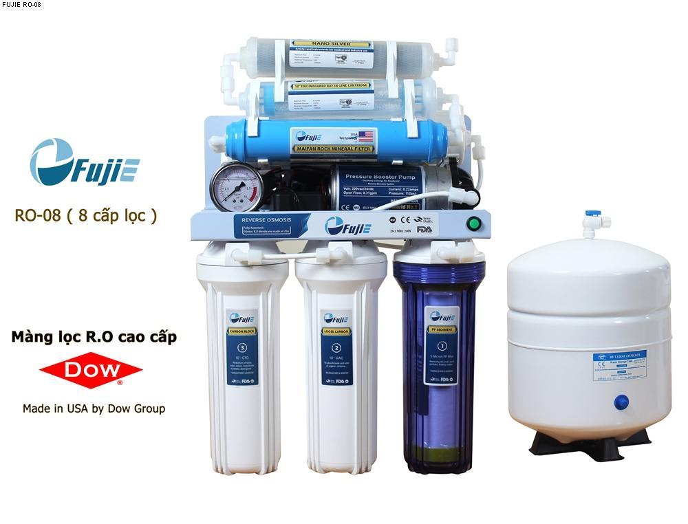 Máy lọc nước tinh khiết RO thông minh FujiE RO-08 ( 8 cấp lọc ) ...