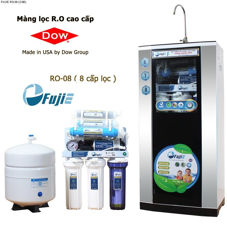 Máy lọc nước tinh khiết RO thông minh FujiE RO-08 (8 cấp lọc-bao gồm t...