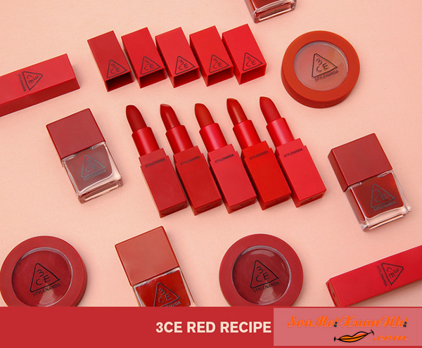 REVIEW Son 3ce Màu 214 Squeezing Luôn Cháy Hàng Trong Set Red Recipe