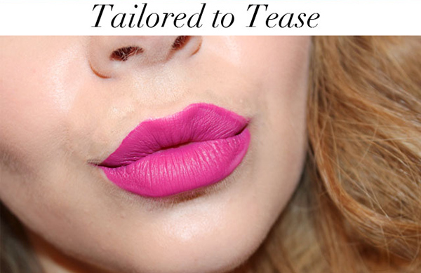 Review Bảng Màu Son MAC Retro Matte Liquid Lip Color Kem Lì màu tailored to tease hồng đậm  này