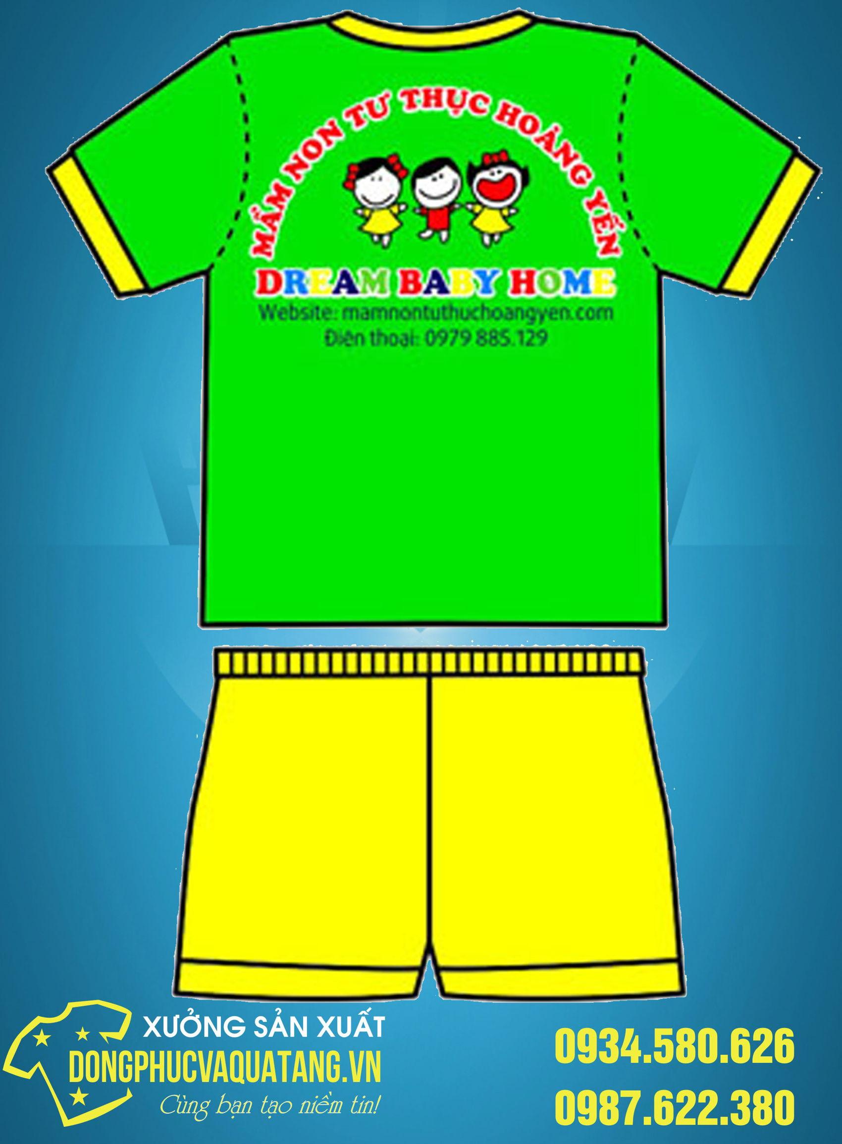 đồng phục mầm non tại Thái Bình