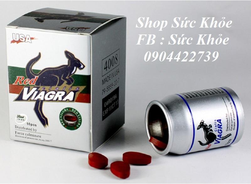 Thuốc cương dương Red Viagra Cialis C200