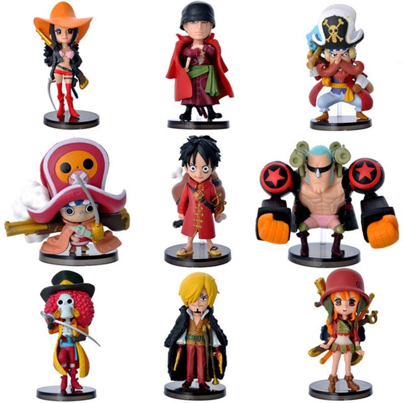 ✅Set One Piece Movie: Z - 9 Figure Mini