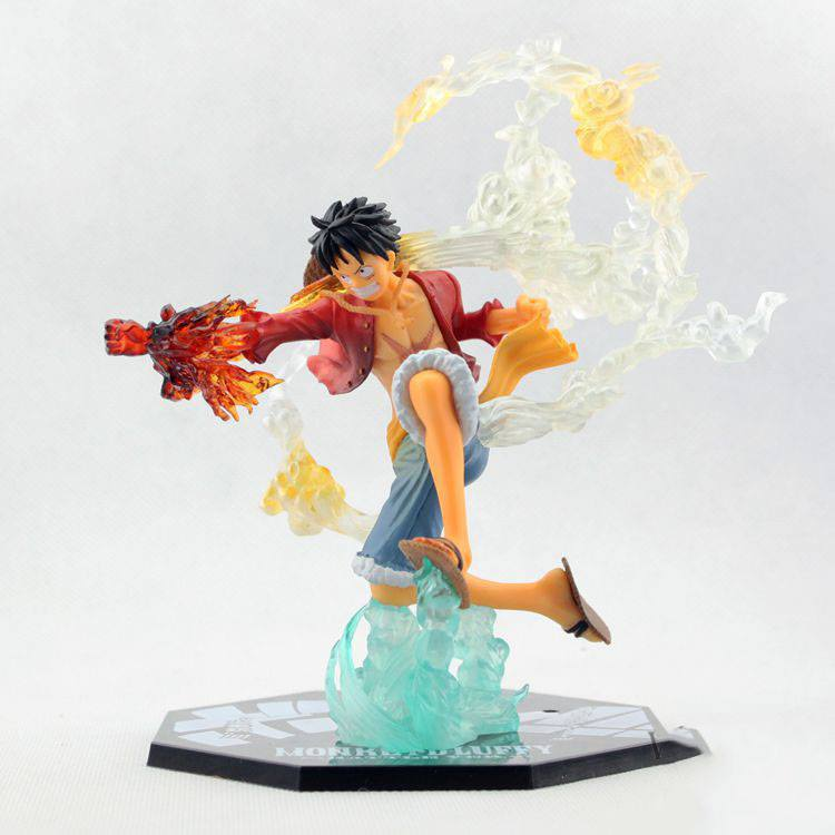✅Figure Luffy - Red Hawk ( One Piece )