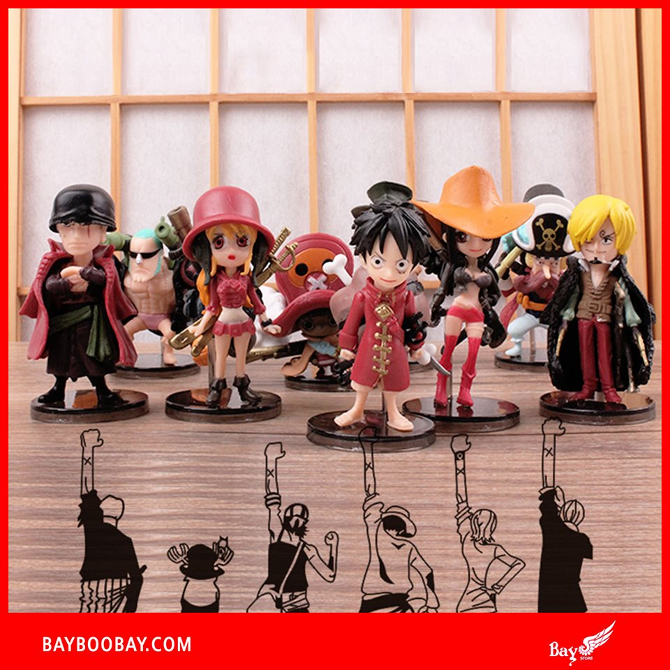 ✅Set Figure One Piece Film: Z (9 con)
