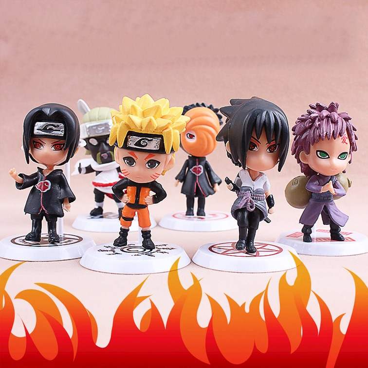 ✅Set Figure Naruto (6 con)