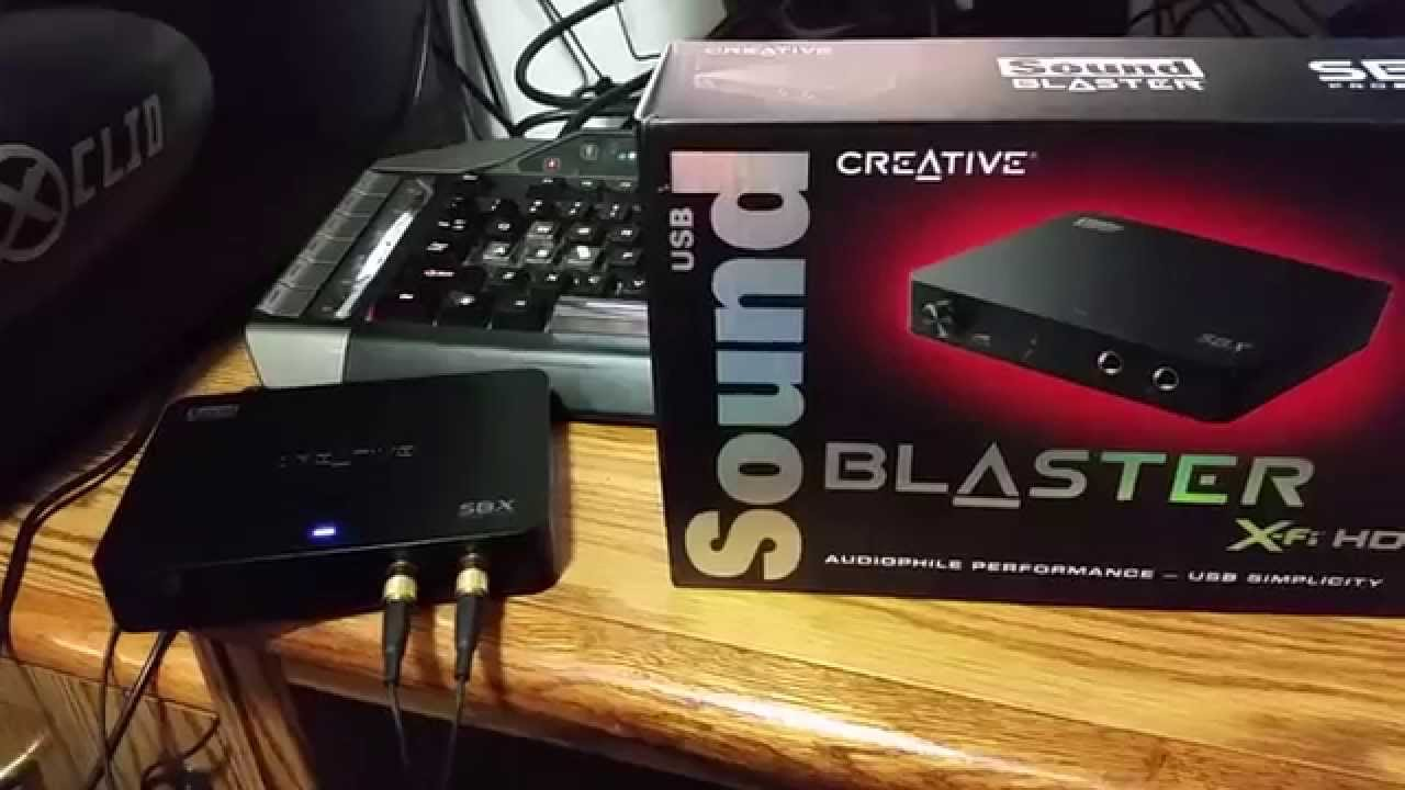 Creative Sound Blaster X-Fi HD USB SB1240