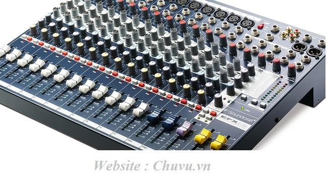 Mixer Soundcraft EFX12 with Lexicon Effects