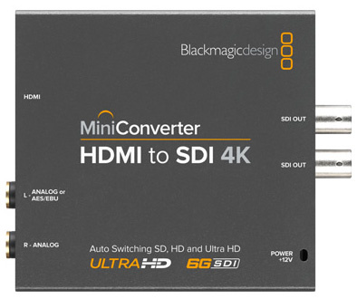 Mini Converter HDMI to SDI 4K