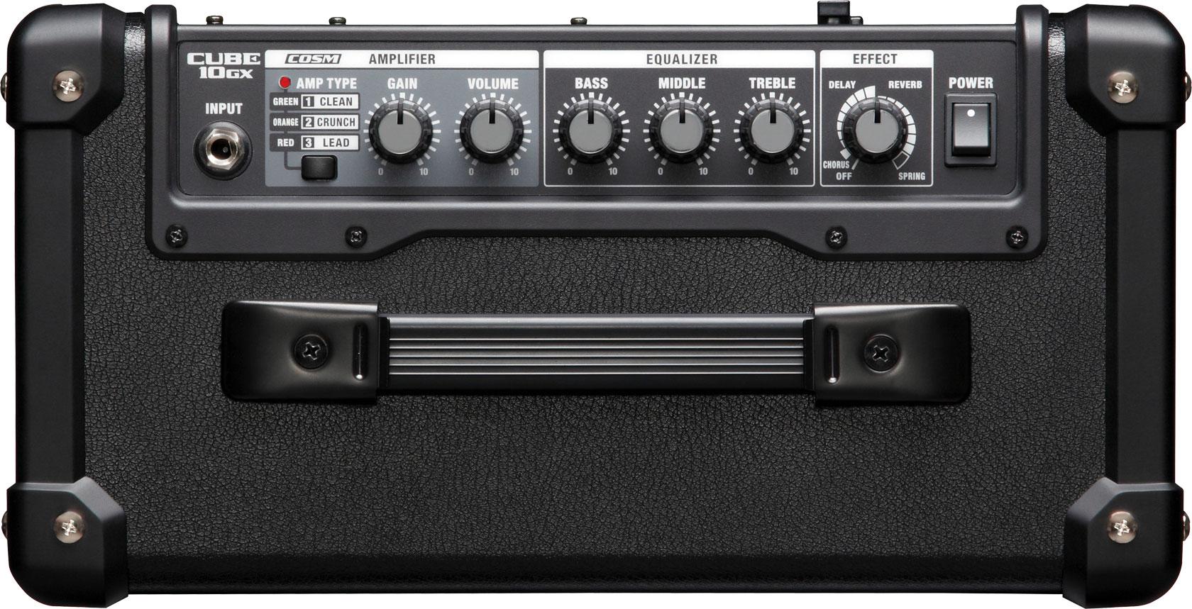 6 lí do nên mua Roland CUBE-10GX Guitar Amplifier 3