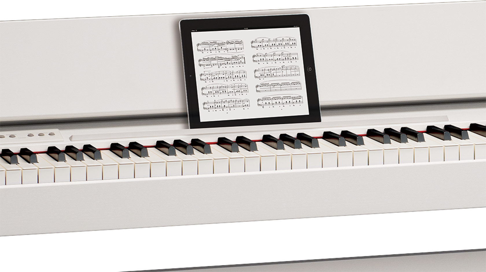 Piano Điện Roland F-140R_iPad
