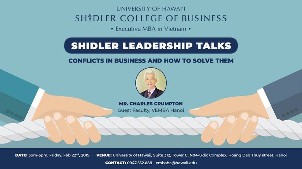 Education - Shilder Leadership Talks: Conflicts in Business and How to Solve Them