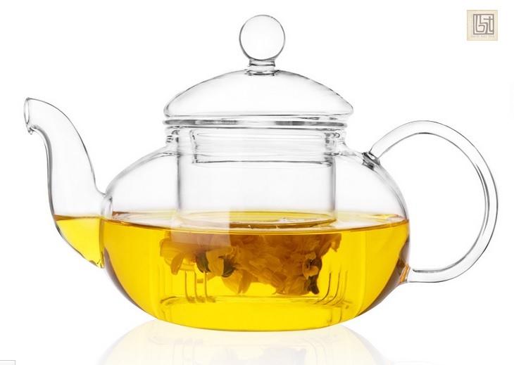 bọ ấm chén pha trà bằng thuỷ tinh