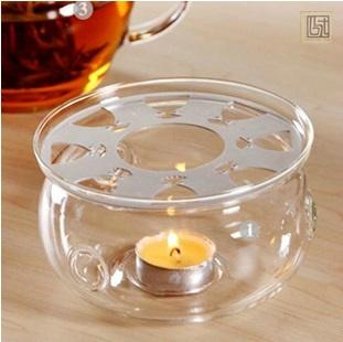 bộ pha trà thuỷ tinh bao gồm ấm thuỷ tinh và chén thuỷ tinh