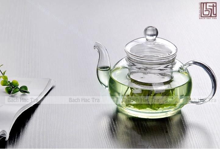 ấm trà thủy tinh, bình trà thủy tinh
