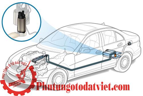 Bơm xăng Mercedes E320 E300 E350 E500- 2114703994