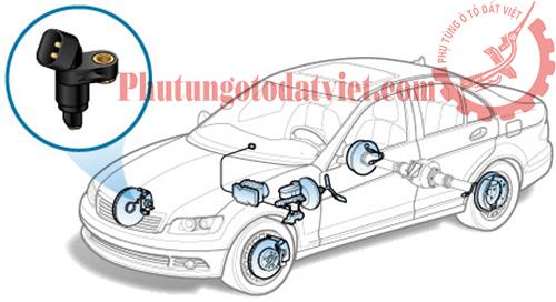 Cảm biếntốc độ ABS Sau Mercedes S400 S500 S600 - 2215400117