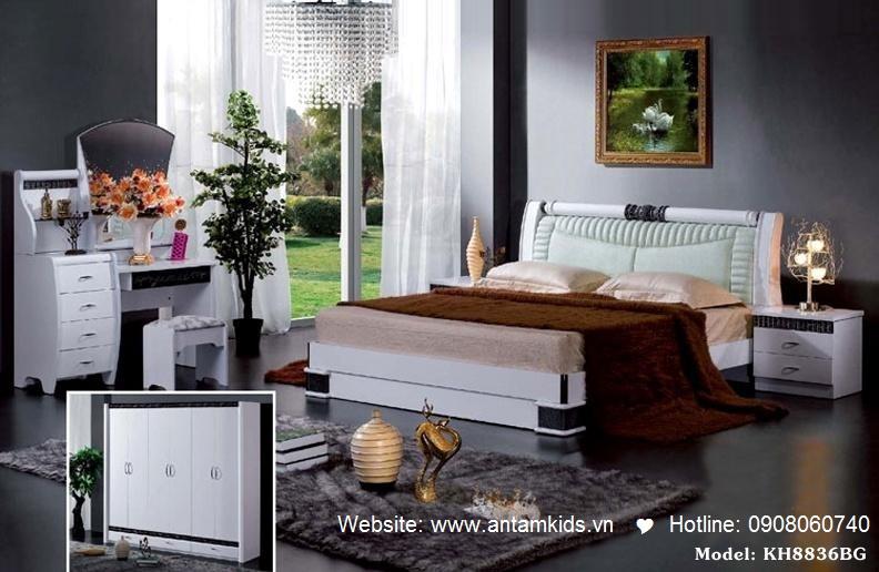 Phòng ngủ KH8836 đẹp & sang trọng   Noi That Phong Ngu AnTamKids