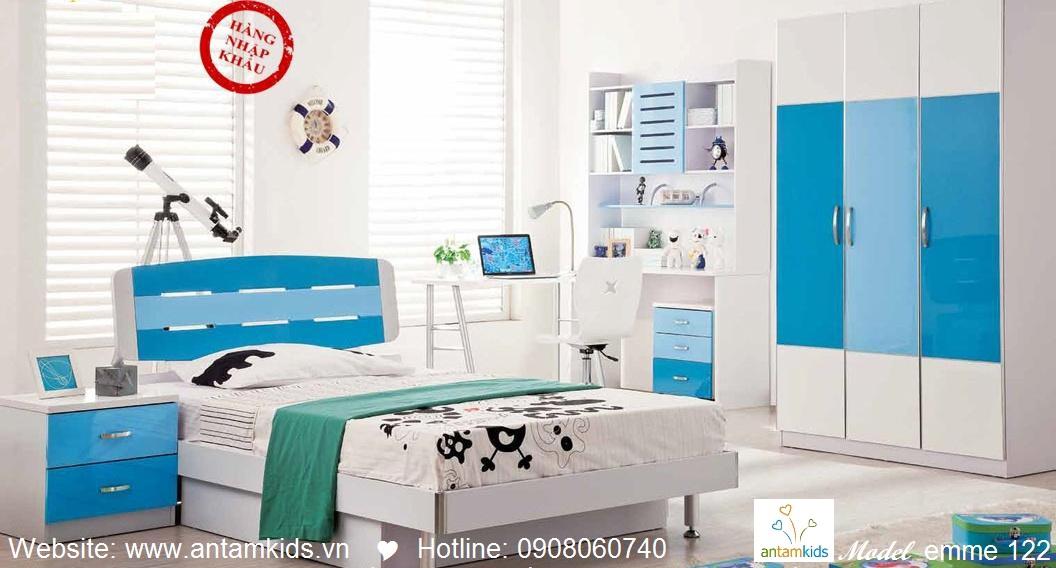 Phòng ngủ cho bé Emme 122 đẹp thiên thần | PHONG TRE EM ANTAMKIDS