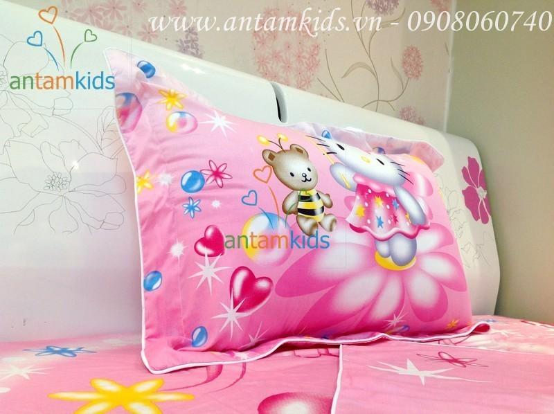 Goi Hello Kitty mau hong cho be gai - AnTamKids.vn