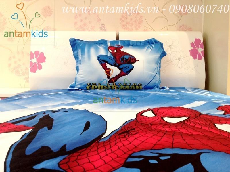 Gối người nhện Spider Man cho bé trai - AnTamKids.vn