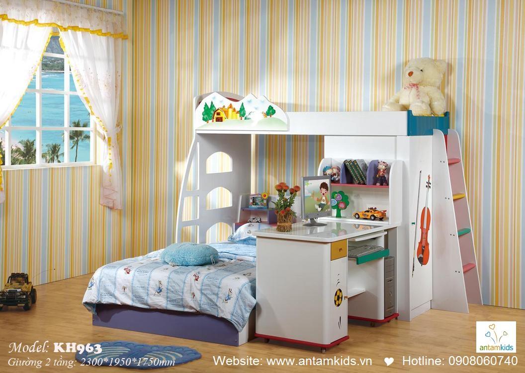 Giường tầng trẻ em KH963