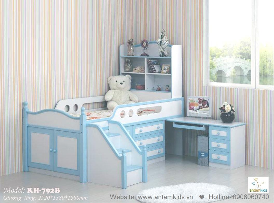 Giường tầng trẻ em KH-792B