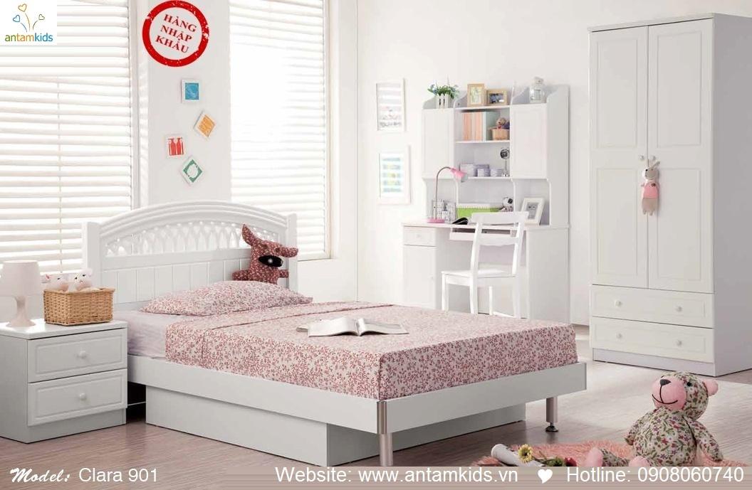 Phòng ngủ cho bé Clara 901 đẹp thiên thần | PHONG TRE EM ANTAMKIDS
