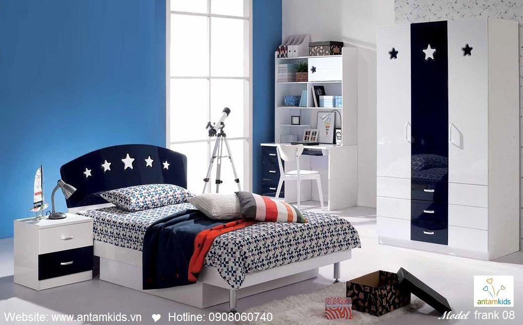 Phòng ngủ cho bé Frank 08 đẹp thiên thần | PHONG TRE EM ANTAMKIDS