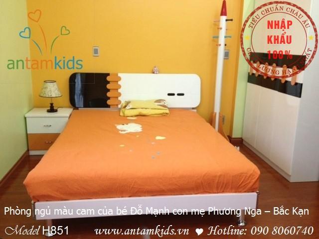 Phòng ngủ cho bé trai antamkids.vn
